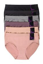 6 Pack Womens Extended Boy Shorts Underwear Panties Seamless Briefs Bikini Lot