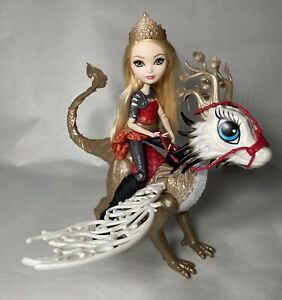 Ever After High Dragon Games Dragonrider Dragon with Apple White Lot