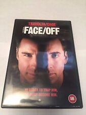 Face/Off (DVD, 2001 john travolta, nicolas cage, region 2 uk dvd
