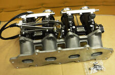 Ford Zetec 1.8 2L inlet manifold with 45 DCOE style throttle bodys kit