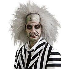 Licensed Beetlejuice Wig Mens Adult Fancy Dress Halloween Costume Accessory STD