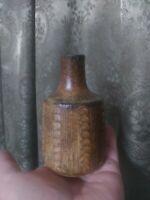 Vintage Pottery Vase Mid-century Earth Tones Wabi-sabi Danish Modern Retro OOAK