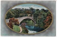 Unidentified Bridge In Oval Frame PPC Unposted, Location Unknown, Wildt & Kray