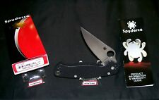 """Spyderco C81GP2 Knife """"Paramilitary 2"""" CPM-S30V USA 4-3/4"""" W/Packaging, Papers"""