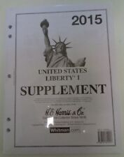 Harris 2015 Liberty US stamp collecting specialized album supplement latest NEW