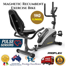 NEW Home Magnetic Resistance Recumbent Exercise Bike Cardio Trainer LCD Display
