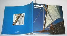 AMATI MODELLISMO Catalogo anni 70/80 Catalog Catalogue Navi