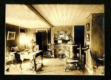 Large Vintage Photo Maine Parlor