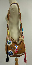 Binetti Peace Love Painted Leather Bag Regular Price $499.00