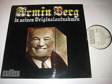 LP/ARMIN BERG in seinen Originalaufnahmen/Preiser records PR 9959