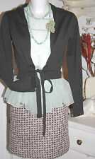 Noa Noa Stepp Rock  Skirt Quiet Quilt Raisin size: XS  Neu