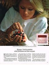 PUBLICITE  1974   KLORANE   cosmétiques
