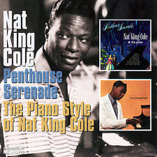 FREE US SHIP. on ANY 3+ CDs! NEW CD Nat King Cole: Penthouse Serenade/The Piano