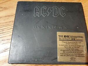 AC/DC - Back in Black (Digipak CD 2003) HEAVY METAL, HARD ROCK, Angus Young