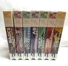 New VHS Winsor Pilates 7 Tape set from Basics to Advanced  Sealed never used