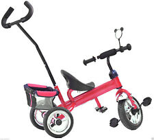 Kinder Dreirad M&G Techno Lenkstange - Rot