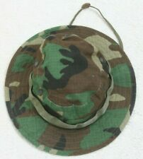 Military Issue Propper Camouflage Green Brown Sun Hot Weather Bucket Hat 7 Seven