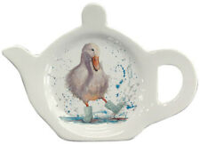 Deirde Duck Melamine Teabag Holder by Bree Merryn