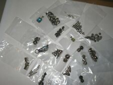 Sterling Silver For Jewelry Making. Beads, Earing Wires Pendants, Spacer, Clasps