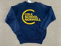 Grace Farrar Cole School Sweatshirt Crewneck Norwell Collegiate Pacific 80s VTG