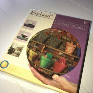 """Anne Geddes ""  Esphera 360 degree 540 Pieces PLASTIC PUZZLE BALL  9 inch POTS"