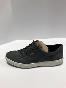 ECCO Men's Soft 7, Casual Sneakers-Blue, Size US 11-11.5, EUR 45.