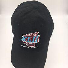 Super Bowl XLII 2008 Reebok NFL Football Black Patriots Giants Hat Cap  NEW