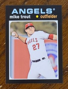 2013 TOPPS ARCHIVES MINI MIKE TROUT MLB BASEBALL CARD #TM-7 NM-MT