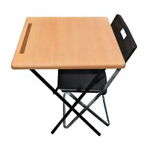 Exam Desk Study Classroom market stall expo laptop computer Folding Table chair