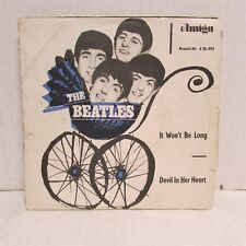 "THE BEATLES It Won't Be Long / Devil In Her Heart 1965 7"" VINYL Amiga E. GERMAN"