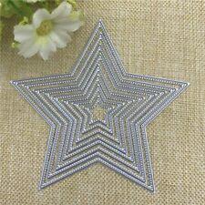 8pc star cutting die, border  cardmaking, scrapbooking, DIY crafts