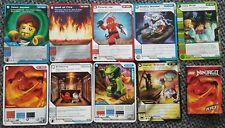 9 LEGO NINJAGO TRADING CARD GAME Sammelkarten