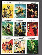 Cryptozoic DC Comics Bombshells 100 cards mini master  base and inserts+ Wrappe