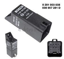 0281003038 Skoda VW Audi Seat Diesel 9-Pin Glow Plugs Relay Bosch 038907281D