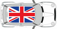 BMW Mini Cooper Union Jack Roof Decal Graphics Sticker