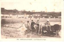Carte Postale - (50) Manche - CPA - Donville-les-Bains - Les villas et la Plage