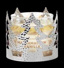 Partylite Hammered Metal Tree Jar Sleeve Candle Holder   P92917