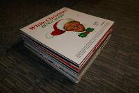 "CHRISTMAS RECORD JOBLOT BUNDLE OF 31 X 12"" VINYL ALBUMS XMAS SONGS ALL VG TO EX"