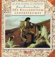 Es war einmal in Amerika - Die Ballade vom Lederstrumpf - Litera Junior CD NEU