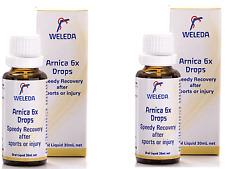 2 x 30ml WELEDA Arnica ( 6x ) Drops