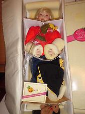 """Christine Orange Shaun 30"""" tall porcelain doll w/coa 433/750 elite collection"""