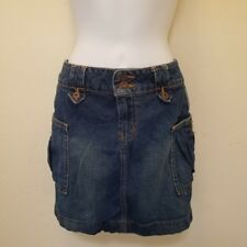 Sexy Brand New LEI Denim Cargo Mini Skirt