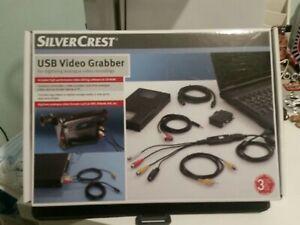 SILVERCREST USB VIDEO GRABBER BN BOXED