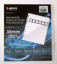 """CLUBMAN 6X4/"""" POLYPROPYLENE PHOTO STORAGES PAGES 10 SHEETS HOLDS 80"""