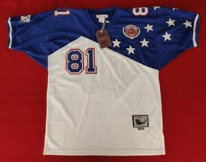 NEW Cris Carter Minnesota Vikings Mitchell & Ness 1996 Pro Bowl Jersey Size 52