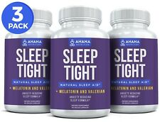 Sleep & Relaxation Formula - Melatonin ~ Made In The USA (3 BOTTLES)