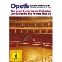 """OPETH """"IN LIVE CONCERT AT THE ROYAL..."""" 2  DVD NEW+"""