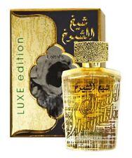 Sheikh Al Shuyukh Luxe Edition Spicy Musky Woody Perfume Spray By Lattafa 100ml