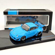 IXO 1:43 Porsche 993 RWB RAUH-WELT BEGRIFF - BLUE MOC211 Limited Collection