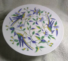 "5 Fitz and Floyd's ""Exotic Birds"" series porcelain salad/dessert plates"